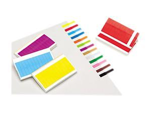 Redi-Tag 20202 Removable/Reusable Page Flags, 13 Assorted Colors, 240 Flags/Pack