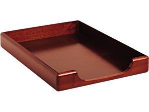 Rolodex 23360 Wood Tones Legal Desk Tray, Wood, Mahogany