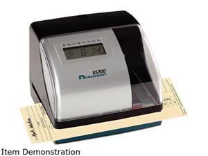 Acroprint 010182000 ES700 Digital, Atomic Time Recorder, Black