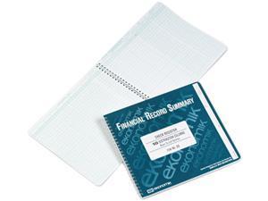 "Ekonomik DD Wirebound Check Register Accounting System, 8 3/4"" x 10"", 40 Pages"