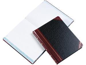 Boorum & Pease 21-300-Q Columnar Book, Quadrille Rule, Black, 300 Pages, 10 3/8 x 8 1/8