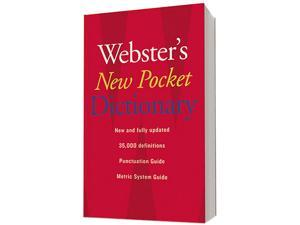 Houghton Mifflin 1019934 Webster's New Pocket Dictionary, Paperback, 336 Pages