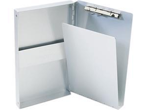 """Saunders 10507 Snapak Aluminum Forms Folder, 3/8"""" Capacity, Holds 5-2/3w x 9-1/2h, Silver"""