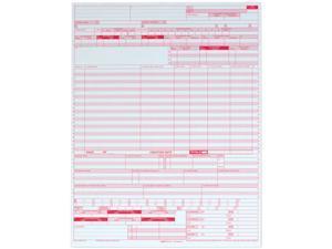 Tops 59870R UB04 Hospital Insurance Claim Form, 8-1/2 x 11, 2,500 Forms