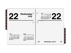 """AT-A-GLANCE E919-50 Recycled Compact Desk Calendar Refill  3"""" x 3 3/4"""""""