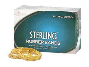 Alliance 24335 Sterling Ergonomically Correct Rubber Bands, #33, 3-1/2 x 1/8, 850 Bands/1lb Box
