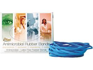 Alliance ALL42199 Antimicrobial Non-Latex Rubber Bands, Sz.19, 3-1/2 x 1/16, 1/4lb Box