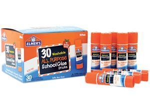 Elmer's E556 - Washable School Glue Sticks, 30/Box