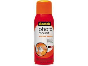 Scotch Photo Mount Spray Adhesive, 10.25 oz, Aerosol
