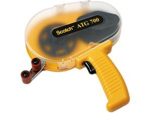 Scotch ATG700 Adhesive Transfer Tape Applicator, Clear Cover