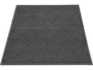 "Guardian EcoGuard Diamond Floor Mat Charcoal 24"" x 36"" EGDFB020304"