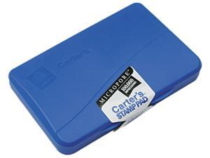 Carter's 21261 Micropore Stamp Pad, 4 1/4 x 2 3/4, Blue