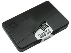Carter's 21281 Micropore Stamp Pad, 4 1/4 x 2 3/4, Black