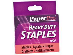 PaperPro 1913 Heavy-Duty Staples, 1/2 Inch Leg Length, 1,000/Box