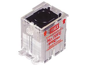 Max NO-70-FE Staple Cartridge for EH-70F Flat-Clinch Electric Stapler, 5,000/Box