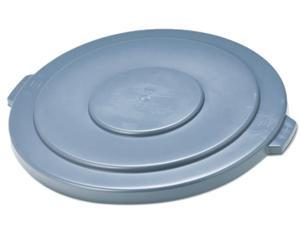 """Rubbermaid Commercial 265400GY Round Brute Lid, 26-3/4"""" Diameter, Gray"""