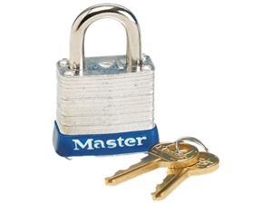 "Master Lock 7D 1.13"" (29.00 mm) Wide Laminated Steel Pin Tumbler Padlock"