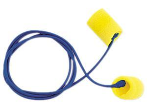 E·A·R 311-1101 Classic Ear Plugs, Corded, PVC Foam, Yellow, 200 Pairs/Box