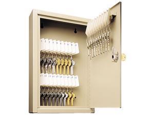 Steelmaster Locking Disc-Tumbler 30-Key Welded Steel Cabinet, 8w x 2 5/8d x 12 1/8h, Sand