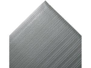 Crown Ribbed Anti-Fatigue Mat, Vinyl, 36 x 60, Gray