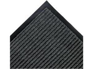 Crown Needle Rib Wipe & Scrape Mat, Polypropylene, 36 x 60, Gray