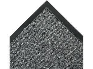 Crown                                    Walk-A-Way Indoor Wiper Mat, Olefin, 48 x 72, Gray
