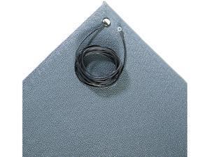 Crown ZC0025GY Antistatic Comfort-King Mat, Sponge, 24 x 60, Gray