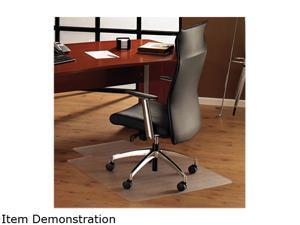 Floortex 1213419LR ClearTex Chair Mat for Hard Floors, 48w x 53h, Clear