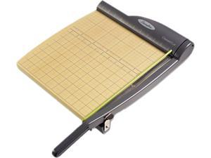 "Swingline 9112 ClassicCut Pro Paper Trimmer, 15 Sheets, Metal/Wood Composite Base, 12"" x 12"""