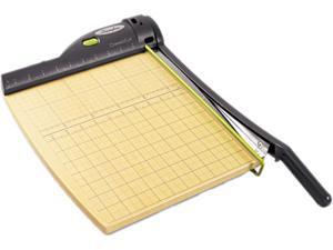 "Swingline 9712 ClassicCut Laser Trimmer, 15 Sheets, Metal/Wood Composite Base,12"" x 12"""