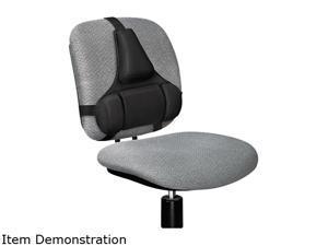 Fellowes 8037601 Professional Series Back Support, Memory Foam Cushion, Black