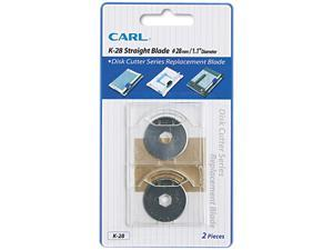 Carl Manufacturing Usa, Inc Replacement Straight Blade Set f/ DC-210/220/238
