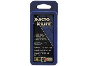 X-ACTO X616 #16 Bulk Pack Blades for X-Acto Knives, 100/Box