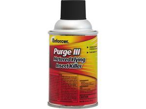 ENFORCER PRODUCTS EPRGFIK7 Purge III Metered Flying Insect Killer, 6.4 oz Aerosol, Fresh Scent
