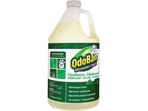 Clean Control Corp 911062G4CT OdoBan Eucalyptus Multi-purp Cleaner Concentrate - 4 / Carton