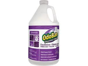 Clean Control Corp 911162G4CT OdoBan Deodorizer Disinfectant Cleaner Concentrate - 4 / Carton