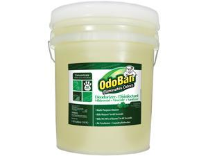 OdoBan CCC 911062-5G Concentrated Odor Eliminator and Disinfectant, Eucalyptus, 5 gal Pail