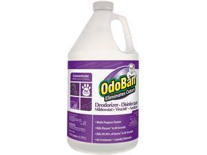 OdoBan CCC 911162-G4 Deodorizer/Disinfectant, Lavender Scent, 4 Bottles