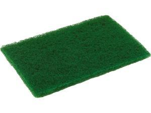 "Disco MD69DISCO Medium Duty Scouring Pad, 6.00"" x 9.00"", Green, 10 per Pack, 6 Packs/Carton"
