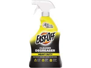 EASY-OFF 62338-99624 Heavy Duty Cleaner Degreaser, 32 oz. Spray Bottle, 6/Carton