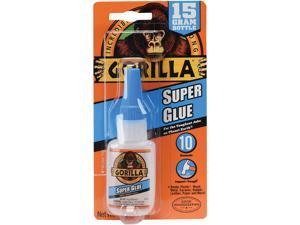 Gorilla Glue 7807101CT Super Glue, 0.53 oz., Dries Clear, 4/Carton