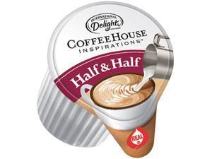 International Delight UPC102042 Coffee House Inspirations Half & Half, 0.375 oz, 180 / Carton