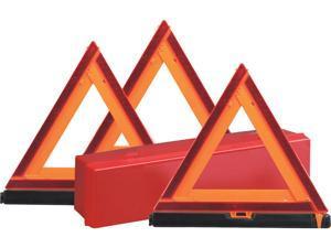 Deflecto 73071100 Early Warning Triangle Kit, Triangle Shape