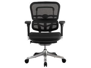 Eurotech ME5ERGLTN15 Ergoelite Mid Back Office Chair in Black