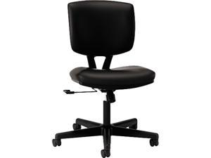 HON H5701.SB11.T Volt Series Task Chair, Black Leather