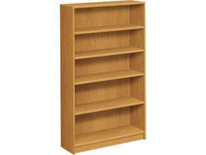 HON 1875C 1870 Series Bookcase, 5 Shelves, Harvest