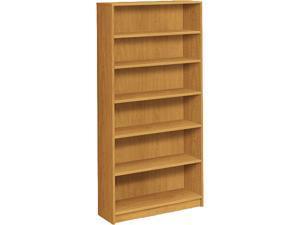 "HON 1876C 1870 Series Bookcase, 6 Shelves, 72.60"" x 36.00"" x 11.50"", Harvest"