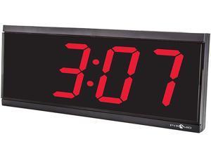 "Pyramid Technologies DIG-6B 4"" 6 Digit Stand Alone Clock"