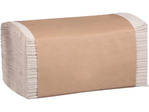 Marcal P600N 100% Recycled Folded Paper Towels, 1-Ply, 8.62 x 10 1/4, Natural, 334/PK, 12PK/CT