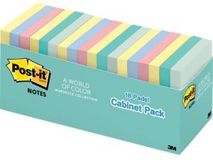 "Post-it 65418APCP Notes 3"" x 3"" Cabinet Pack"